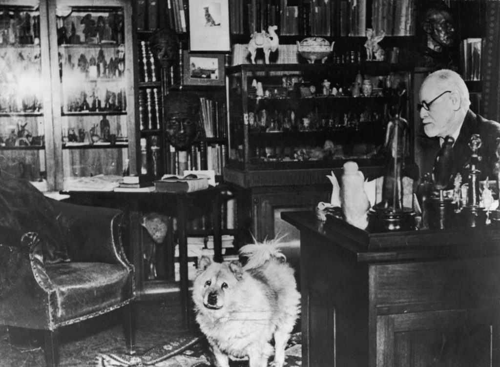Sigmund Frojd i njegovi psi