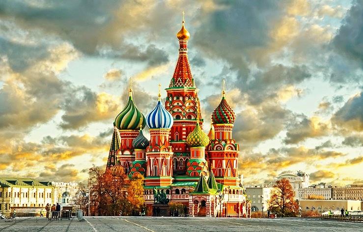 moskva, rusija, crveni trg