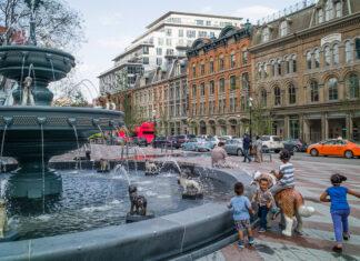 Toronto fontana