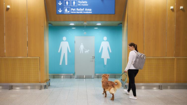 toalet za pse