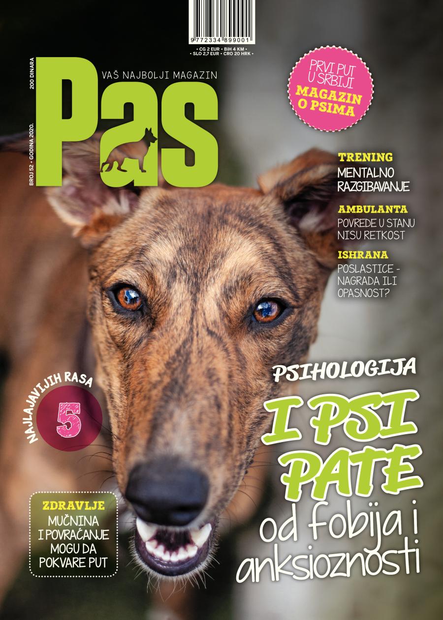 novi broj magazina pas