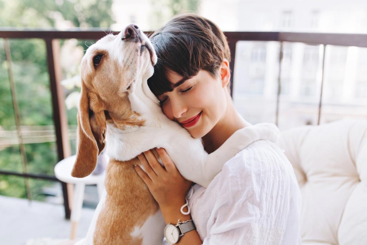 devojka i pas