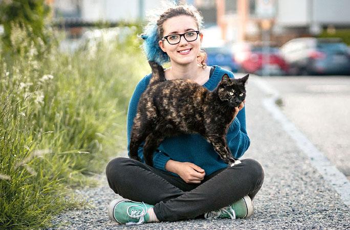 ginisova mačka